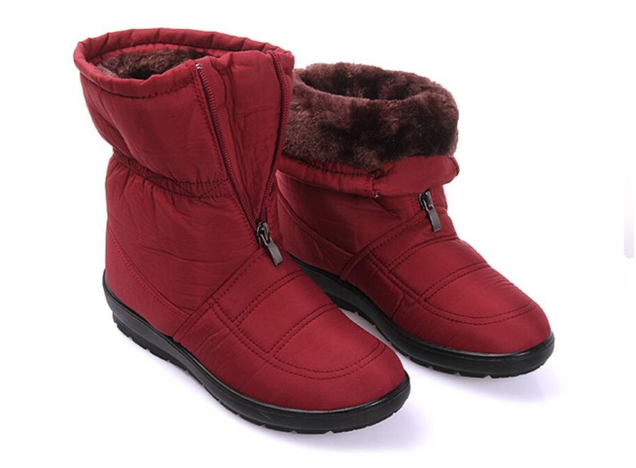 Size35- 42 New 2014 Winter Boots Casual Snow Boots Waterproof Women