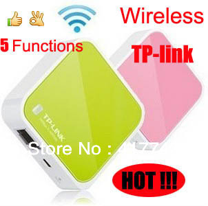 Free shipping/Tp-Link/Very useful and practical/150meters Wireless wifi Mini Router/Portable AP/ USB power/5 big functions<br><br>Aliexpress