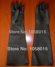 long rubber sand blasting glove 60cm high quality sandblasting gloves(China (Mainland))