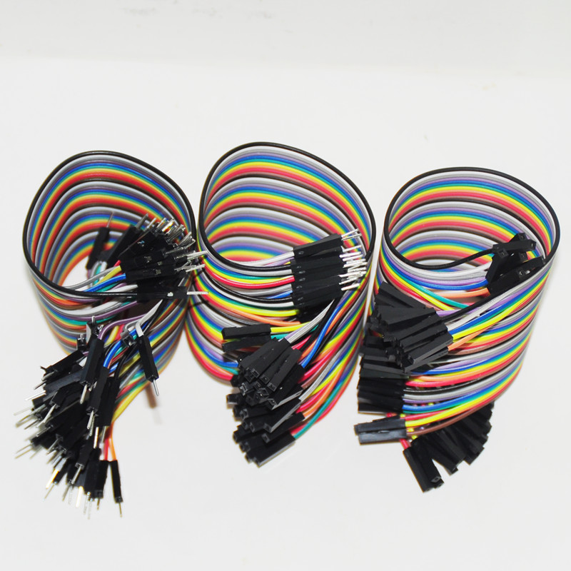 120pcs 20cm 2.54mm Dupont Line Male Male + Male Female + Female Female Jumper Wire Dupont Cable Arduino