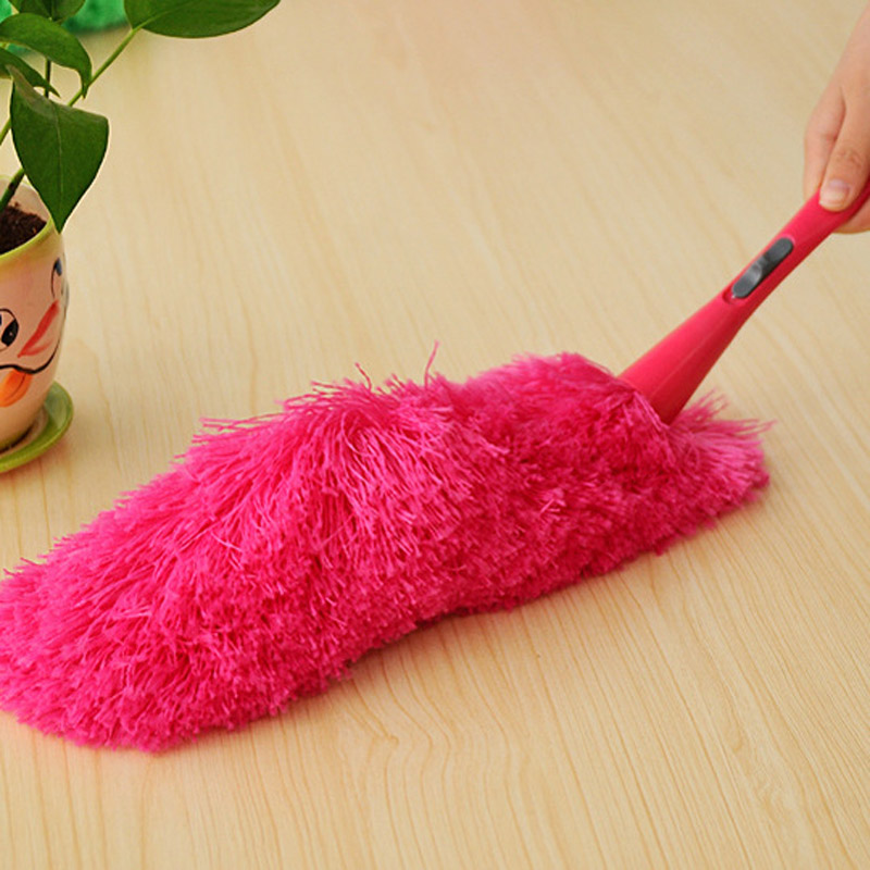 New Soft Microfiber Cleaning Duster Dust Cleaner Handle Feather Static Anti Magic(China (Mainland))