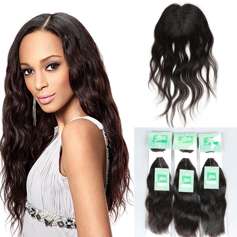 8A Brazilian Virgin Hair With Closure Natural Wave, Brazilian Hair Weave Bundles With Closure, 3 Hair Bundles with Lace Closures<br><br>Aliexpress
