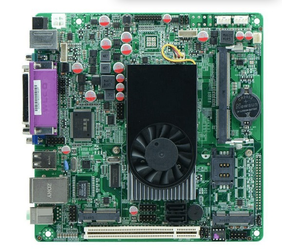Atom D525 latest Tablet Pc Intel Industrial Motherboard Car PC Motherboard(China (Mainland))