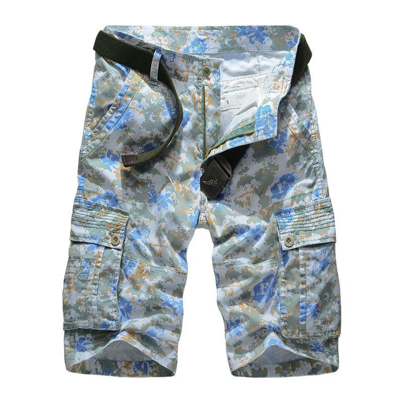 Mens Camo Shorts - New Summer Mens Shorts Khaki Shorts Camo Cargo Military Camouflage Shorts Casual Running Gym Short