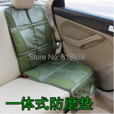 reen color Car baby child safety seat protection pad car baby seat slip-resistant pad general Car Carpets(China (Mainland))