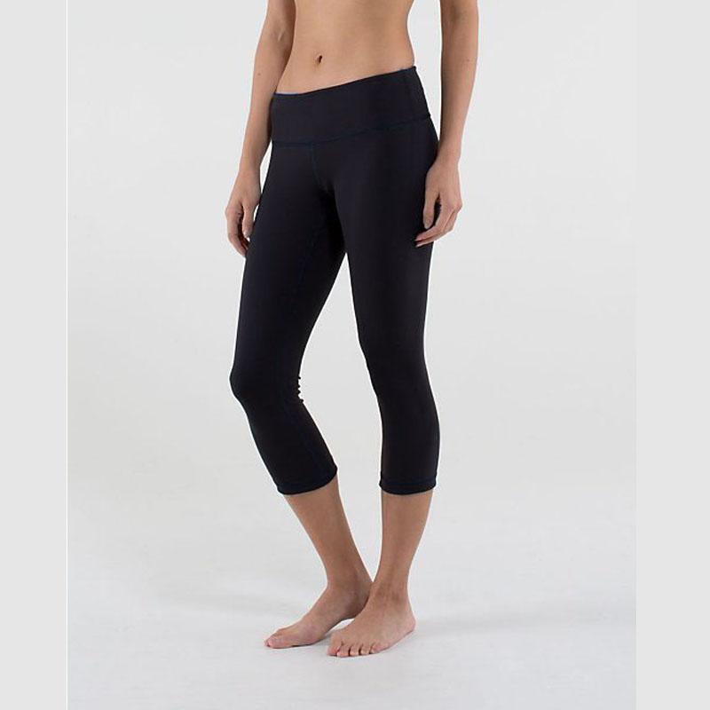 LU XXS XL Yoga Women Clothing Crop Sport Pants Running Leg