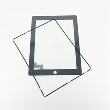 1 X Black Touch Screen Glass for iPad 2 Digitizer Replacement For iPad2 Front Glass Panel + Frame +Tools(China (Mainland))