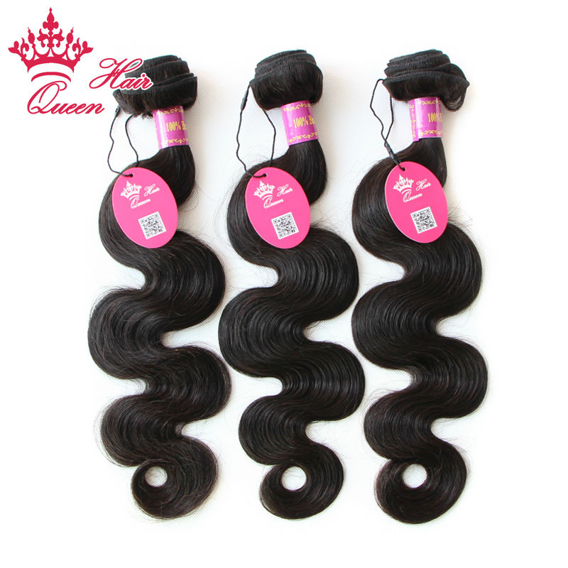 """Гаджет  5A Unprocessed Queen Hair Products Cheap Brazilian Virgin Hair Body Wave hair extension 4 pcs lot Hair Weave 12"""" to 28 """" None Волосы и аксессуары"""