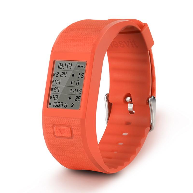 ถูก จัดส่งฟรีกีฬาสมาร์ทวงHesvit S3สร้อยข้อมือสมาร์ทสมาร์ทสายรัดข้อมือกีฬาออกกำลังกายติดตามสมาร์ทวงH Eart Rate Monitor
