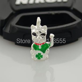 C937 hot sale fashion zinc alloy silver DIY Lucky Cat thomas charms for 20pcs/lot Matching necklace and bracelet(China (Mainland))