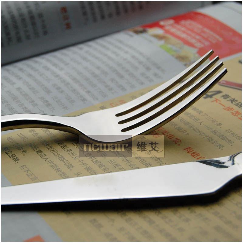 Buy Gohide Kitchen Dinnerware Metal Stainless Steel Tableware Set Dinner Fork Western Fork Knife Kit Tableware Portable Tools cheap