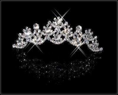 HG009-Wholesale FREE shipping ornament RHINESTONE BRIDE girl lady children Bridal Wedding Party hair decoration(China (Mainland))