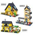 Enlighten City Villa series Action Figures Building Block Toys Kids Educational Bricks Toys Compatible With Legeod