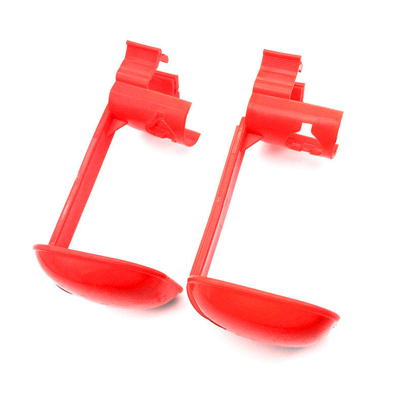 10 Sets Chicken tool Red Hanging drinking cup Drinking Fountains Bird nipple drinker Chicken farming equipment Free shipping(China (Mainland))