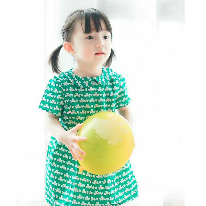 Клевер платья для девочек
