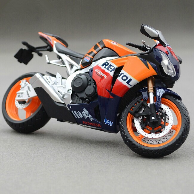Free Shipping 1:12 Diecast Motorcycle Model Toys HONDA CBR1000RR Metal Motorbike Model Toy For Collection(China (Mainland))