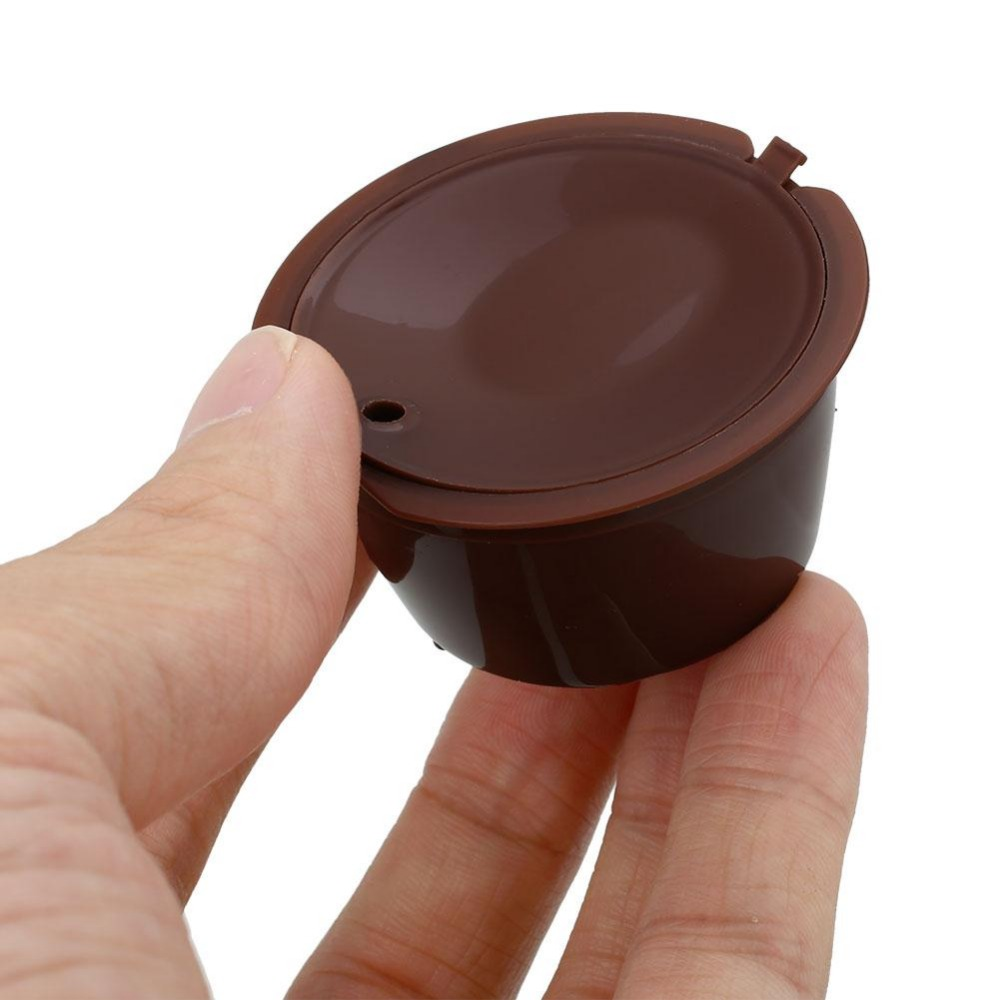 2 pcs hot sale refillable kcarafe k coffee dolce gusto capsule kitchenware filter cup - Cheapest K Cups