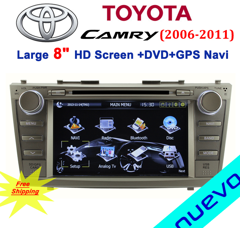 toyota camry 2008 bluetooth audio for toyota camry 2008 2011 car dvd player gps navigation. Black Bedroom Furniture Sets. Home Design Ideas