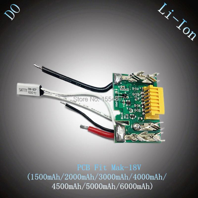 New Replacement Rechargeable Lithium Ion Battery PCB Circuit Board for Makita 18V BL1830 (3000mAh/4000mAh/4500MAh/6000mAh)(China (Mainland))