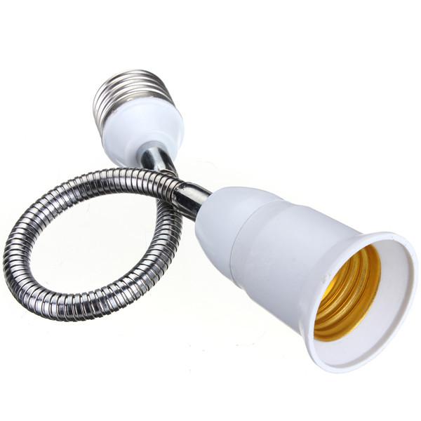 E27 to E27 20CM Length Flexible Extend Extension LED Light Bulb Lamp Holder Screw Socket Adapter Connecter Converter<br><br>Aliexpress