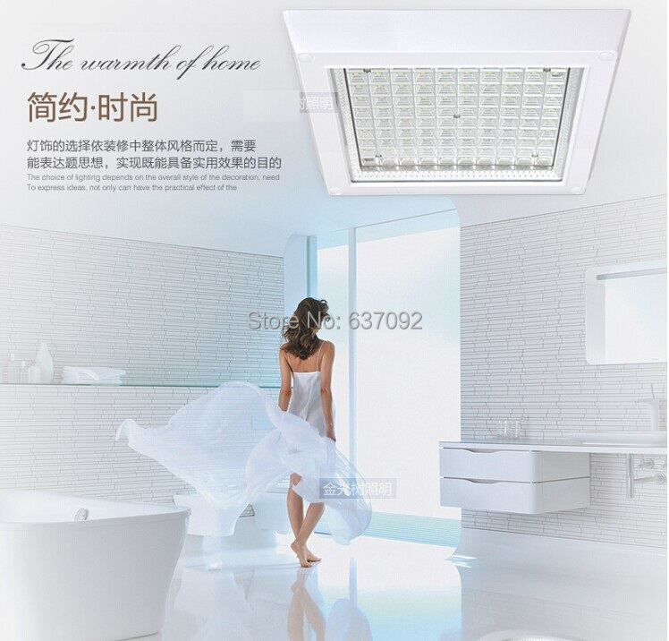 FREE SHIPPING LED Ceiling light Square 18W Big Discount Retail Anti-glare  Home Lighting<br><br>Aliexpress