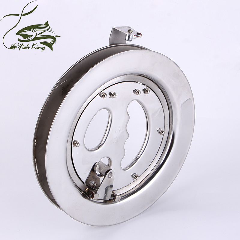 2015 Hot Sale FREE SHIPPING High Quality 9.5 Strong Stainless Kite line Reel / Winder W/Lock / Outdoor Sports / Play Tools <br><br>Aliexpress