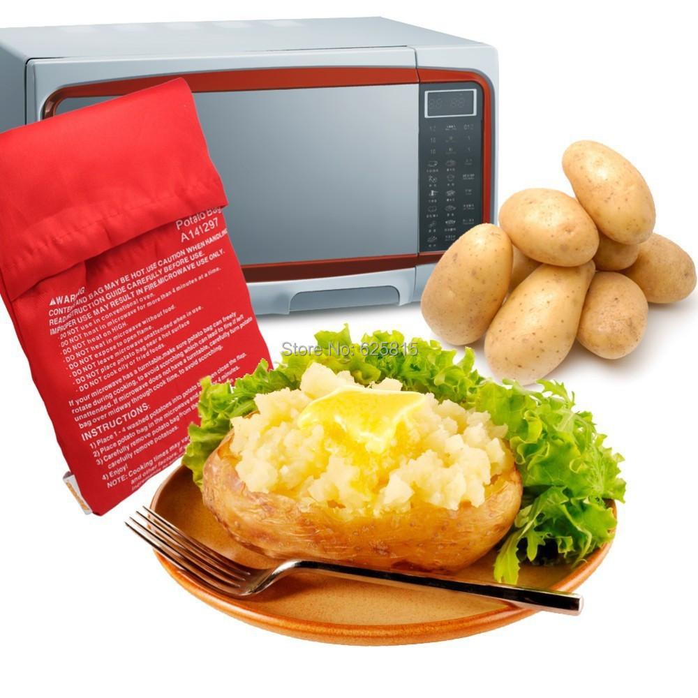 Oven Bag Potatoes Red Potato Bag Microwave