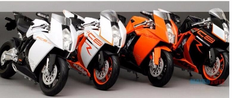 NEW 1:10 Scale KTM 1190  Motorcycle Diecast Models Alloy Motorcycle Racing Model Toys Gift and Collection