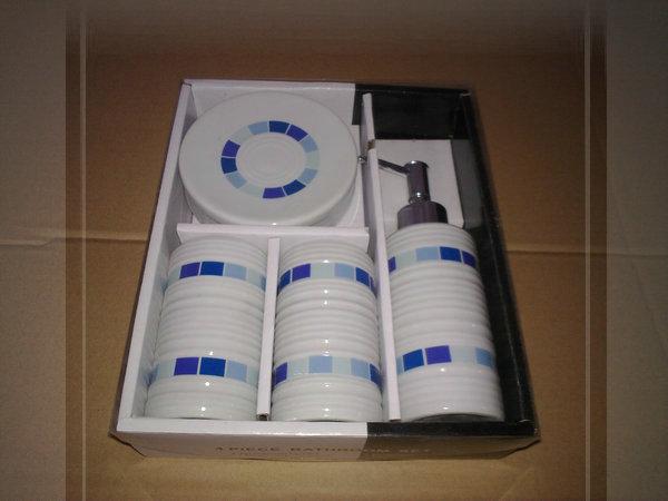 modern special designed 4pcs porcelain 4pcs decorative bathroom accessory b8321A cozinha monocomando(China (Mainland))