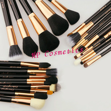 SGM new arrival 29pcs copper kit professional brush collection makeup brush+ case(China (Mainland))