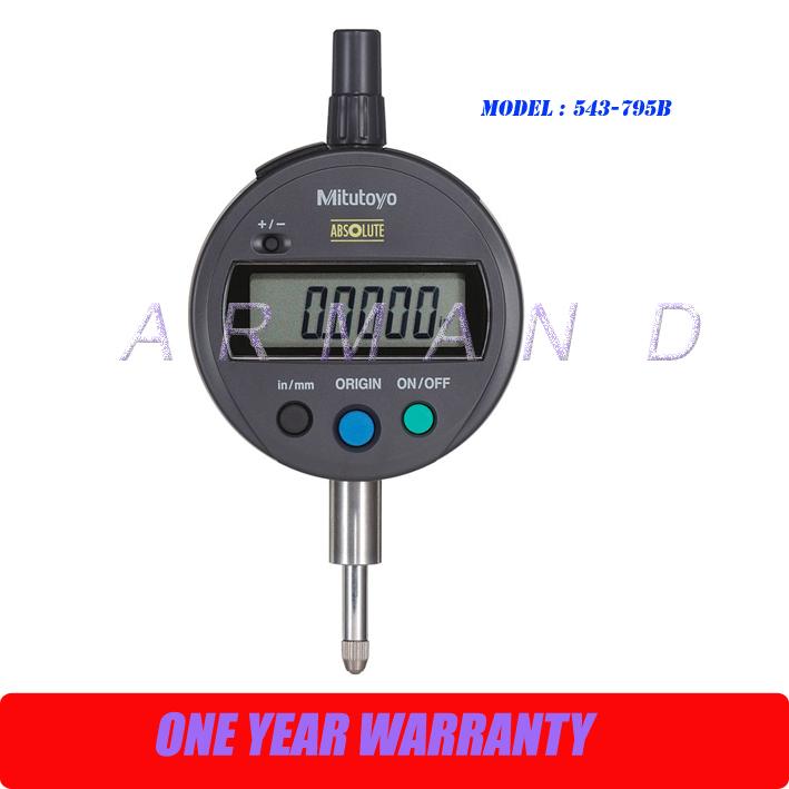 Mitutoyo Digital Dial Indicator : Original high precision mitutoyo b digimatic