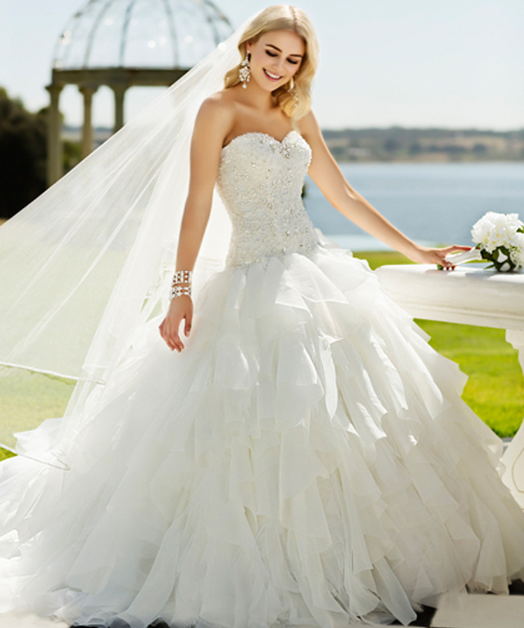Modern youth wedding dresses: Online wedding dresses not from china