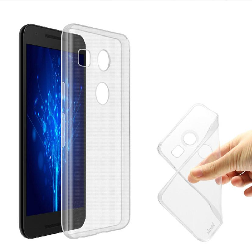 Good Sale For LG Nexus 5X Soft Transparent Gel Skin TPU Case Cover Free shipping Mar 25(China (Mainland))