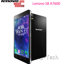 NEW Original Lenovo S8 A7600 4G LTE Golden Warrior MTK6752M Android 5.0 2G RAM 13MP 5.5'' 1280x720 Dual SIM 3000mAh Cellphone(China (Mainland))