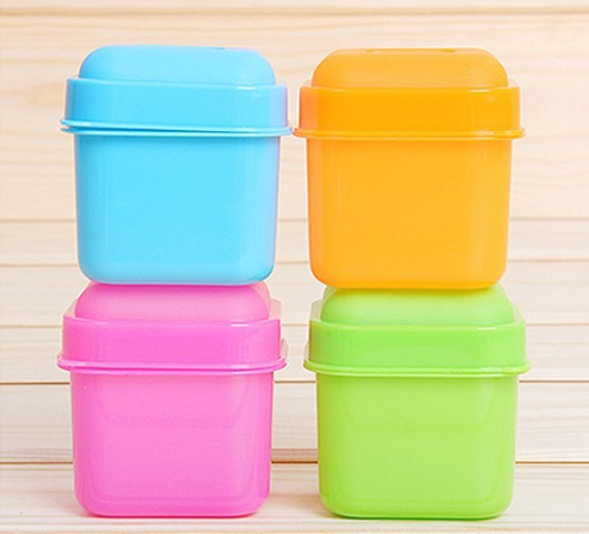 Гаджет  Wholesale candy-colored mini crisper / sealed storage box storage box - two fitted kitchen daily None Бытовая техника