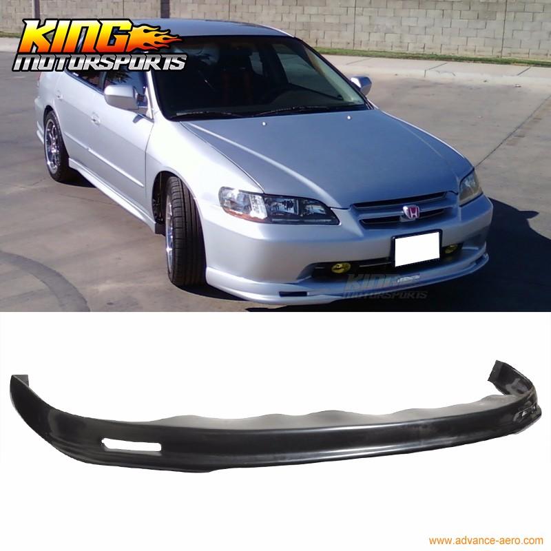 Painted Black Trunk Lip Spoiler R For Honda Accord CG Sedan 98-02 Gen 6