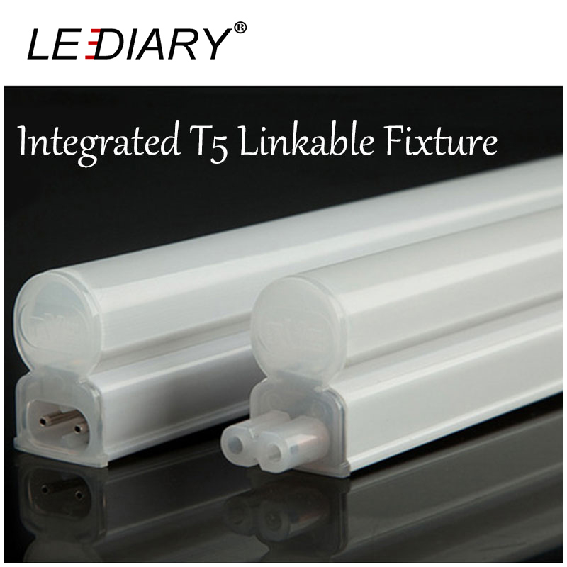 Integrated LED T5 Linkable Fixture Slim Joinable T5 Tube Light 220V 4W/8W 30/60cm LED Wall Lamp for Kitchen/ Under Cabinet Light(China (Mainland))