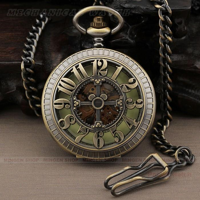 Online buy wholesale mechanical pocket watch from china for Wind chain online