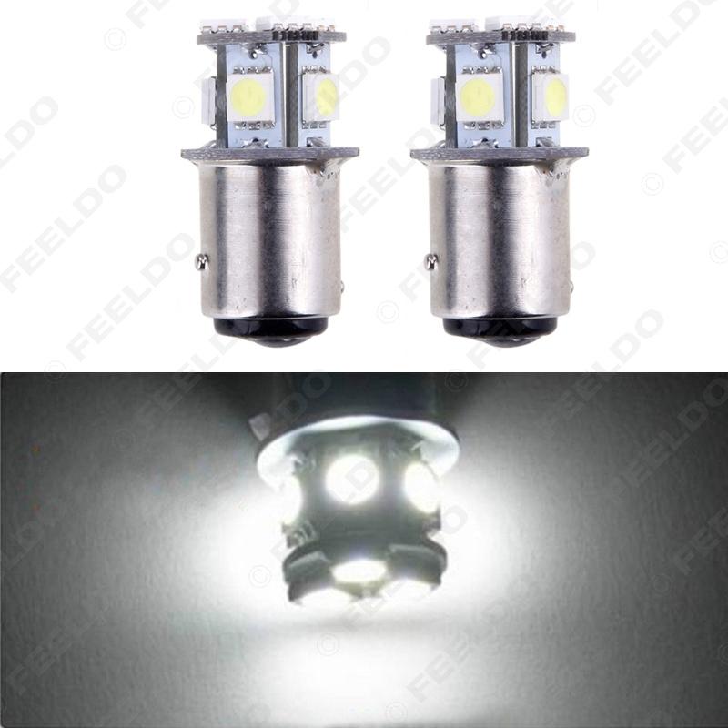 100Pcs Pure White 12V 1157 BAY15D 5050 Chip 8SMD Car Backup Fog Signal Tail Rear LED Light #FD-1688<br><br>Aliexpress