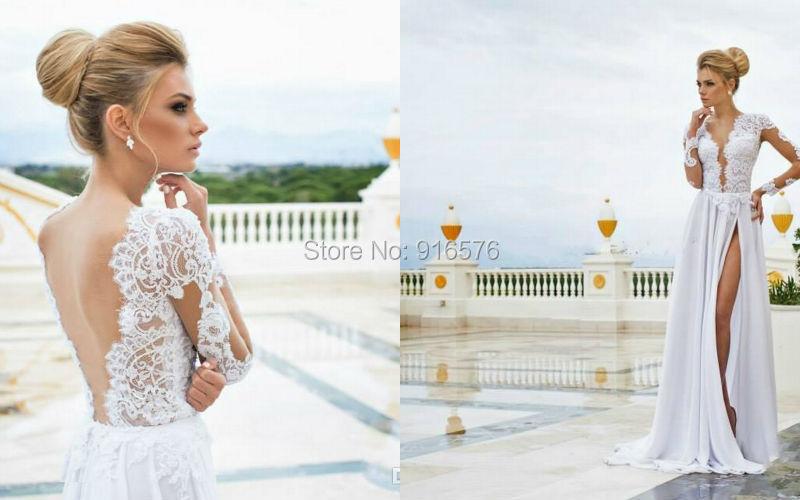 Beach Style Wedding Gowns - Ocodea.com