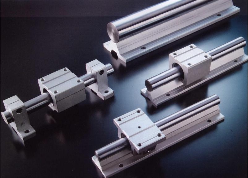 Axis precision linear guide rod bearings hard chrome soft slide the slider chute movement hydraulic fittings MM(China (Mainland))