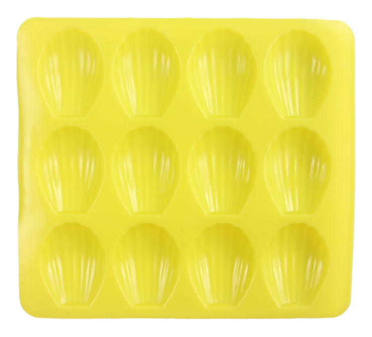 Гаджет  12cavity Silicone Madeleine Cookie Mold Shell Cake Pan Biscuit Mold Cookie Cutter Baking Tools M1566 None Дом и Сад