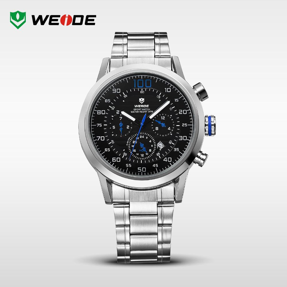 Hot Sale! WEIDE Original Military Watches Waterproofed Men Full Steel Luxury Brand Quartz Watch Sports Watches WH3311(China (Mainland))
