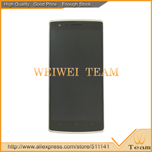 Black Oneplus One 1 LCD Display Screen Touch Glass Digitizer Assembly Frame - WEIWEI TEAM store