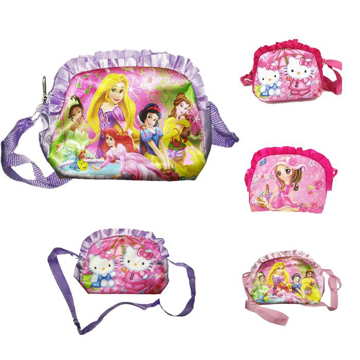 New 2015 Cute Princess/Girl/hello kitty Children school bags for girls Cartoon kids shoulder bag mochila infantil F356(China (Mainland))