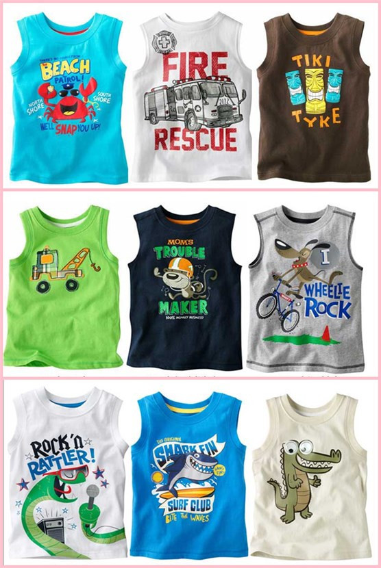 Top selling children's clothing patterns we have sixteen pattern for your purchase such as a car dinosaur crabs are many bike(China (Mainland))