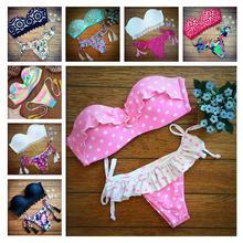 POLOVI 2015 Latest Push Up Women Swimsuits Bathing Suit Sexy Brazilian Bikini Bottoms Swimwear Hot Sale High Quality 15199