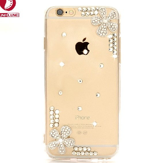 Luxury Flower Rhinestone Bling Case Cover For iphone 3G/3GS 4G 4S 5 5S 6/6S 4.7 iPhone 6 plus/ 6S plus 5C iPod Touch 5(China (Mainland))