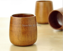Natural Wood Cup for wine tea, Wooden Mugs Eco -friendly Free Shipping S020428(China (Mainland))