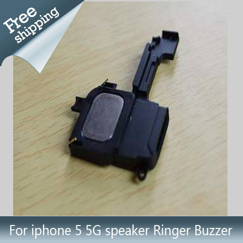 5pcs/lot Genuine New Spare Parts for iphone Loud Speaker Ringer Buzzer for iPhone 5 5G Free Shipping mobile phone buzzer(China (Mainland))